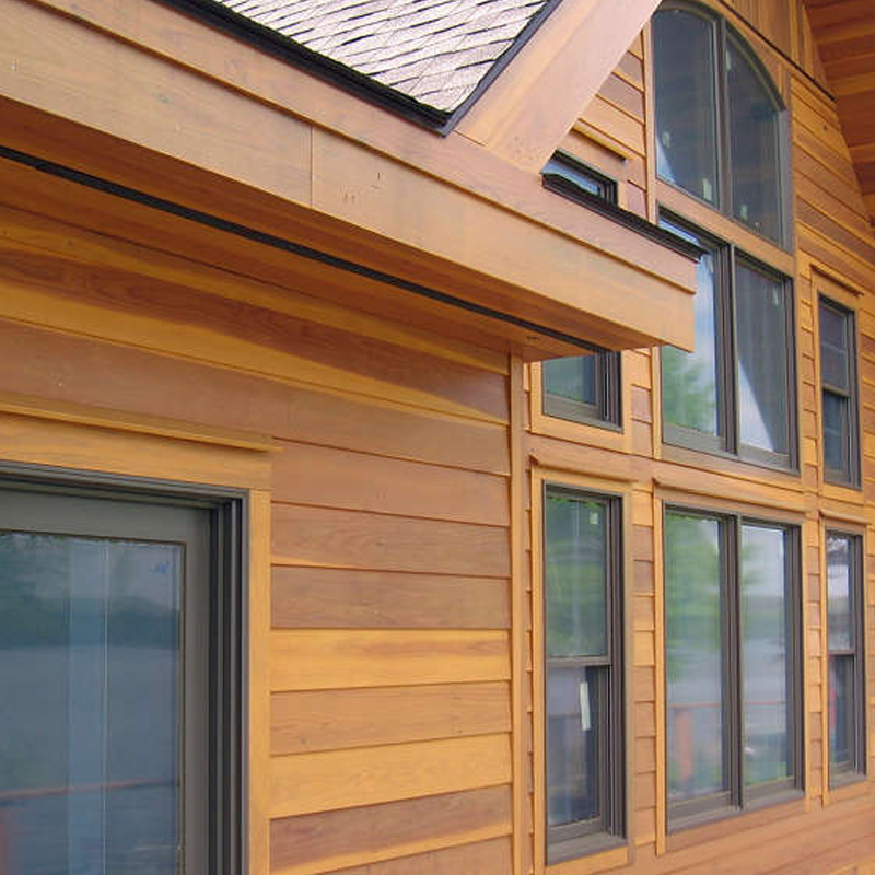 Siding budget exteriors for Natural wood siding