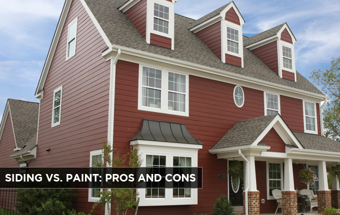 Siding Vs Paint Pros And Cons Budget Exteriors